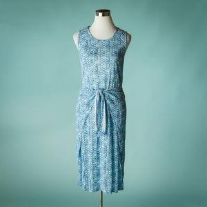 Rebecca Taylor S Shibori Linen Midi Dress